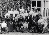 The Household Staff at Cragside, 1886