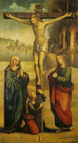 THE CRUCIFIXION attributed to F