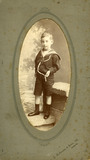Edward Chambré Hardman as a child