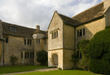 The South front of the late fifteenth-century house, Westwood Manor, altered in 1610, but retaining the late Gothic and Jacobean windows, near Bradford-on-Avon, Wiltshire