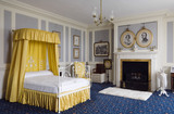 The South Bedroom at Hughenden Manor, Buckinghamshire, home of prime minister Benjamin Disraeli between 1848 and 1881