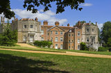 The south front of Mottisfont Abbey near Romsey, Hampshire