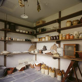 View of the Pantry at Llanerchaeron