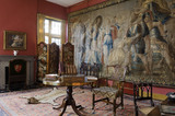 The Tapestry Dressing Room at Coughton Court, Warwickshire