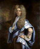 PORTRAIT OF AN UNKNOWN MAN by Thomas Murray in the Treasurer's House, York (post conservation)