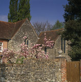 A partial view of Old Soar Manor