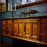 Sideboard by Llewellyn Rathbone with marquetry panels