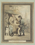 "CRIES OF LONDON, NO. 1: ""Buy a trap, a rat trap, buy my trap"" by Rowlandson, 1799"