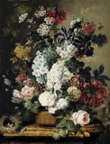 FLORAL STILL-LIFE by Johannes Linthorst, 1811