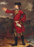 PORTRAIT OF WOLFE AT QUEBEC, a reproduction of one by Shaak
