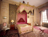 Queen's Room at Belton House, named after Queen Adelaide's visit in 1841