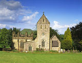 The Church and Chapel, Ilam Park, Derbyshire