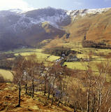 Looking down on Derwentwater from Castlerigg Fell