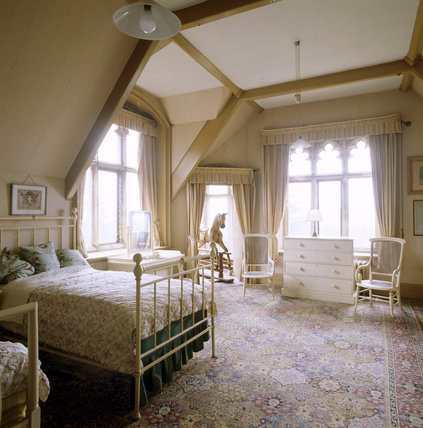 The night nursery on the second floor at Tyntesfield