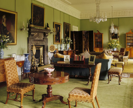 The Saloon at Dunham Massey