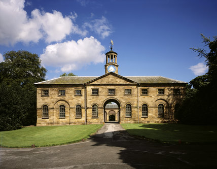 The Stable Block built in 1772, probably to the designs of John Carr of York