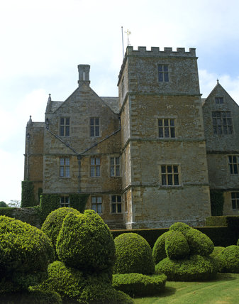 A corner of the House at Chastleton viewed from the east