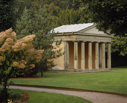 Doric Temple in the grounds of Shugborough Hall, Staffordshire