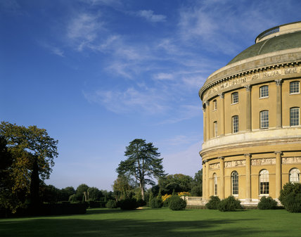 The South Front of Ickworth House in Suffolk showing part of the central rotunda