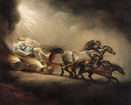 FALL OF PHAETON by George Stubbs