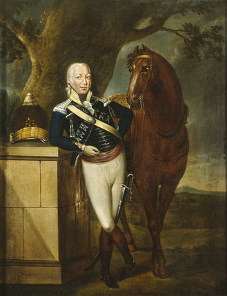 THOMAS PETER LEGH (1753-1797) painted by an unknown artist