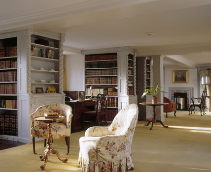 View of the Library at Ightham Mote