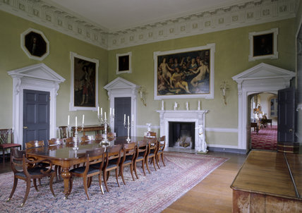 View of the Dining Room at Lacock Abbey