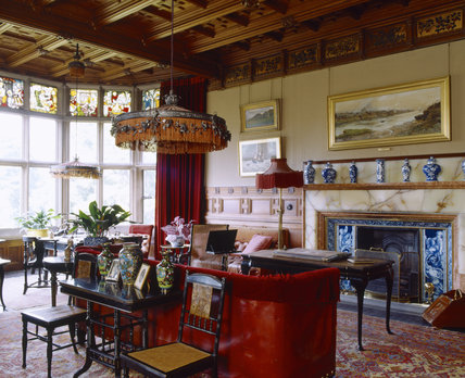The Library at Cragside, Northumberland