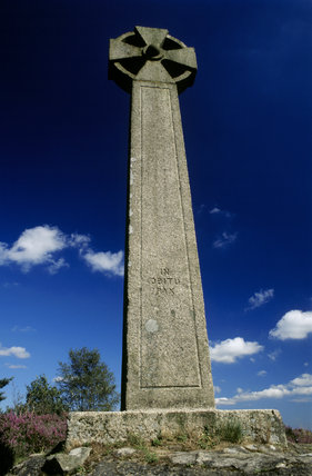 'The Gibbet' , a tall stone cross on Hindhead Common, Surrey