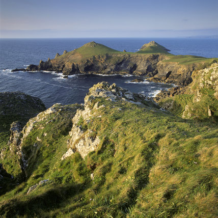 The Rumps, a headland within the dramatic coastline between New Polzeath and Port Quin