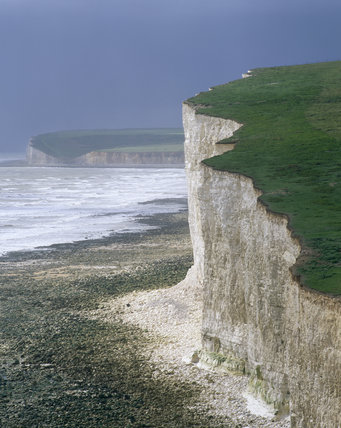 Crowlink's cliffs (Looking West) at Seven Sisters