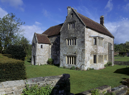 The exterior of the late-C15th house, Little Clarendon, Salisbury, Wiltshire, altered in the C17th