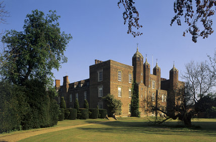 The exterior of Melford Hall, Suffolk