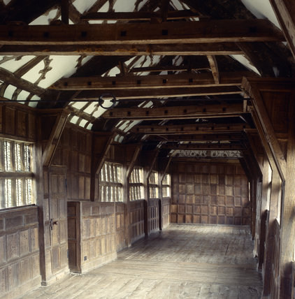 The Long Gallery (68ft) at Little Moreton Hall