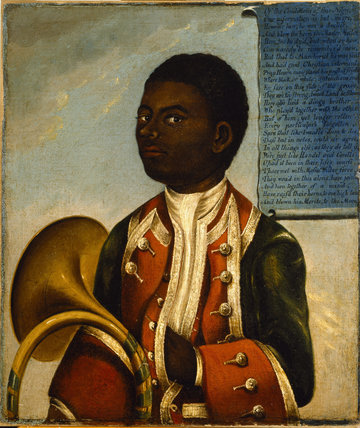THE NEGRO COACHBOY, 18th-century, British School, at Erddig, Wrexham, Wales