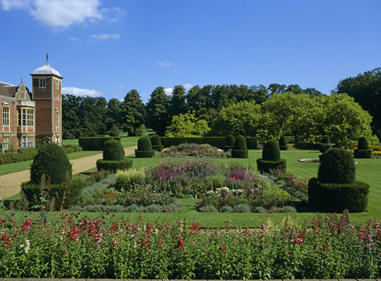 The Parterre Garden at Blickling Hall, Norwich, Norfolk
