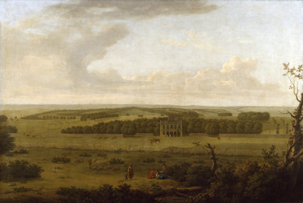 VIEW OF LODGE PARK painted by George Lambert