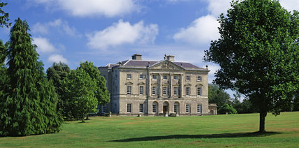 The Classical front of Castle Ward built by Bernard Ward in 1762