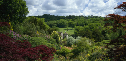Scotney Castle from the Bastion View