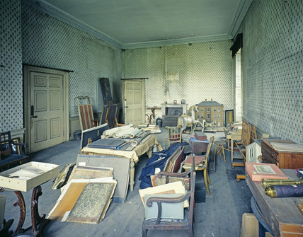 The Schoolroom at Calke Abbey, Derbyshire