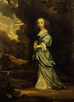 Lady Elizabeth Egerton, Countess of Leicester (1653-1709)