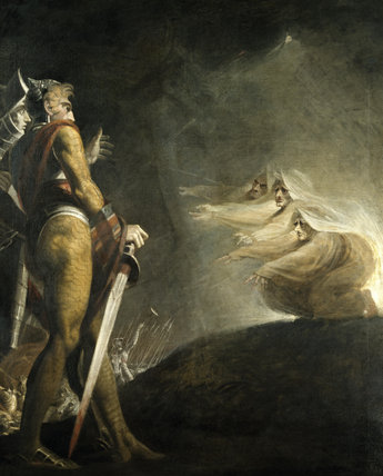 MACBETH AND THE WITCHES -