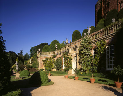 View of the Orangery at Powis Castle