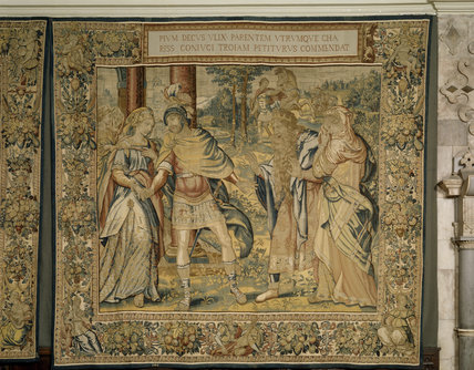 One ot the Ulysses Tapestries from Brussels (late C16th)