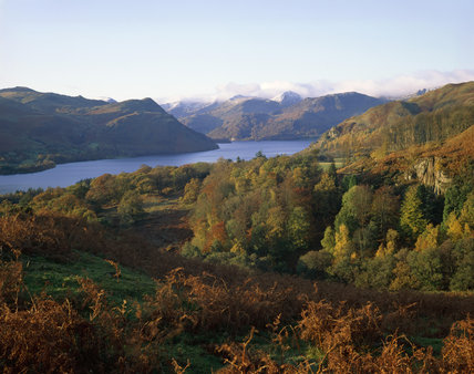 The north shore of Ullswater looking southwest