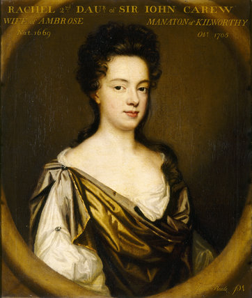 RACHEL CAREW by Mary Beale Wife of Ambrose Manaton of Kilworthy
