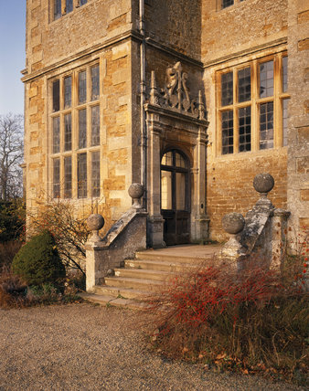The Porch at Chastleton House at the South Front