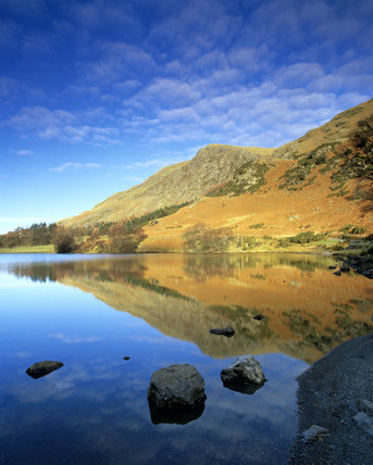 A view taken at Buttermere of Goat Crag