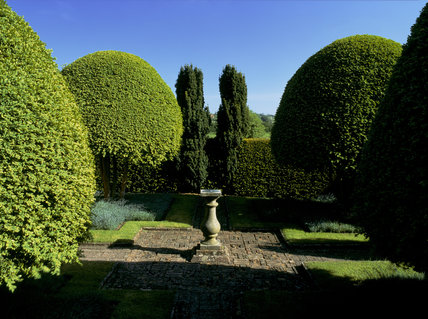 Alfriston Clergy House, the Topiary Garden
