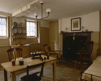 The Kitchen at Carlyle's House, 24 Cheyne Row, London